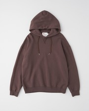 【MEN'S】QUILTED PATCH CREW NECK PULL OVER PARKA 詳細画像 ブラウン 1
