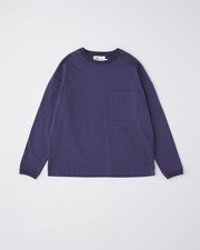 BIG FRONT POCKT LONG SLEEVE 詳細画像 バイオレットインク 1