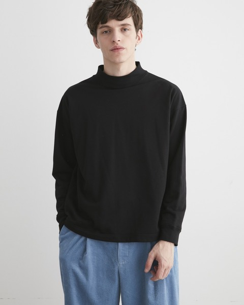 MOCK NECK BASIC PULL OVER