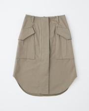 MILITARY POCKET SKIRT 詳細画像 セージ 1