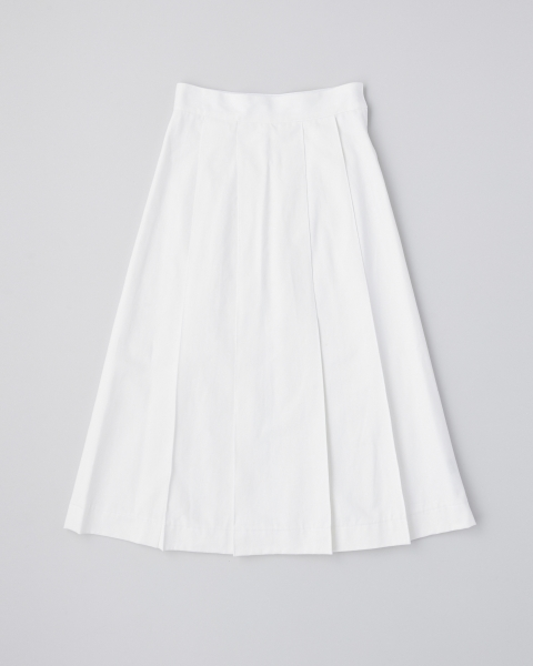 BIG PLEATS SKIRT