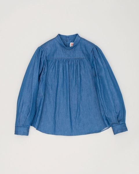 SMOCKING STITCH BLOUSE