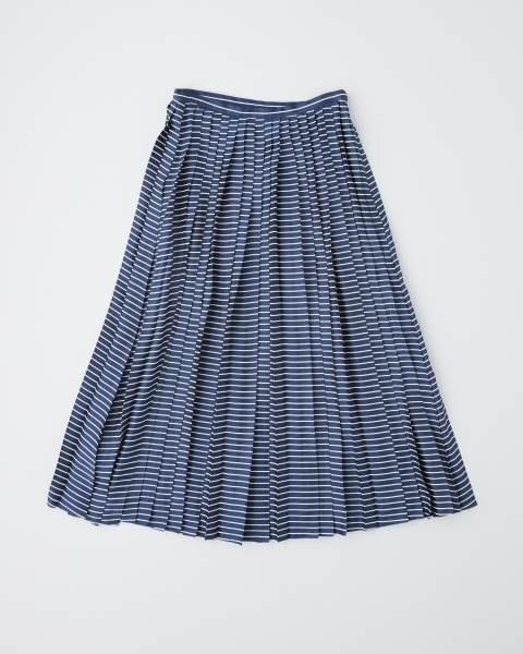 PLEATS LONG SKIRT