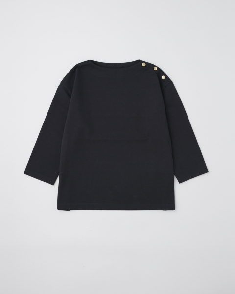 BF PULL OVER WITH DOT BUTTON BF プルオーバー ウィズ ドットボタン