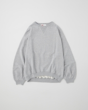 PUFF SLEEVE SWEAT TOP      詳細画像 グレー 1