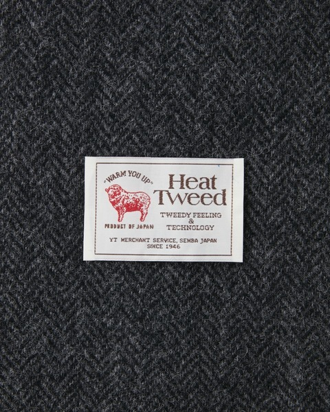 LYALL BLOUSON HEAT TWEED