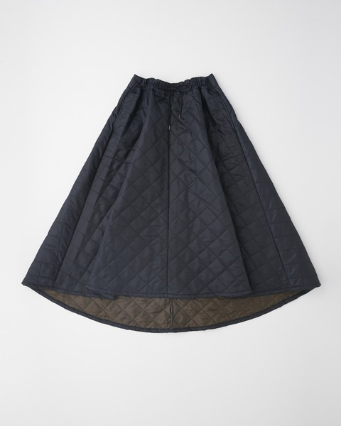 QUILTED LONG SKIRT