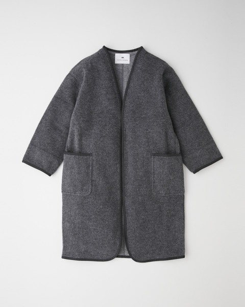 【HIGH STREET COLLECTION】NO COLLAR LONG CARDIGAN