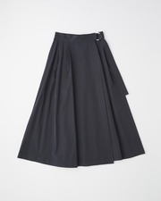 【HIGH STREET COLLECTION】LONG FLARE SKIRT 詳細画像 ブラック 1