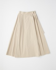 【HIGH STREET COLLECTION】LONG FLARE SKIRT 詳細画像 ベージュ 1