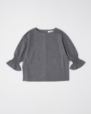 【HIGH STREET COLLECTION】CUFF GATHERD PULL OVER 詳細画像 チャコール 1
