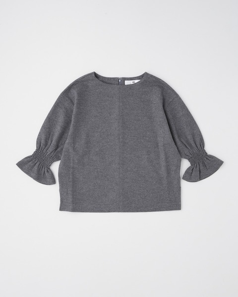 【HIGH STREET COLLECTION】CUFF GATHERD PULL OVER