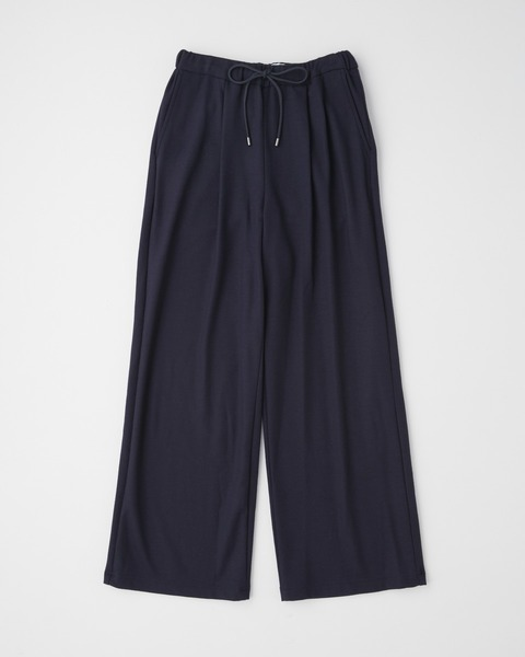 【HIGH STREET COLLECTION】LOOSE TAPERED JERSEY PANTS
