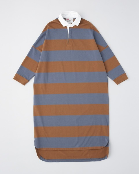 BIG RUGBY SHIRT ONE-PIECE