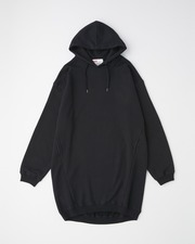 PUFF SLEEVE SWEAT PARKA ONE-PIECE 詳細画像 ブラック 1