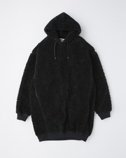 PUFF SLEEVE SWEAT PARKA ONE-PIECE 詳細画像 ブラック 11