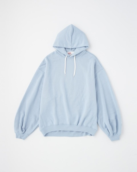 PUFF SLEEVE SWEAT PARKA