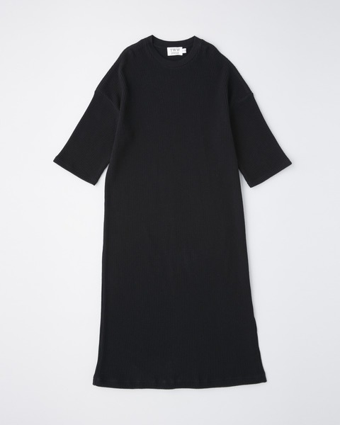 SLIT LONG T-DRESS