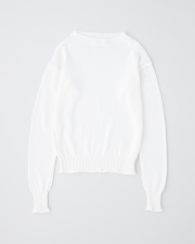 【UNISEX】ROLL NECK LONG SLEEVE PULL OVER 詳細画像 ホワイト 1