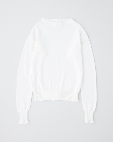 【UNISEX】ROLL NECK LONG SLEEVE PULL OVER