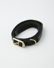 【×TOSHINOSUKE TAKEGAHARA】foot the coacher MESH BELT 詳細画像 ブラック 1