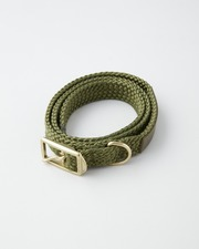 【×TOSHINOSUKE TAKEGAHARA】foot the coacher MESH BELT 詳細画像 カーキ 1
