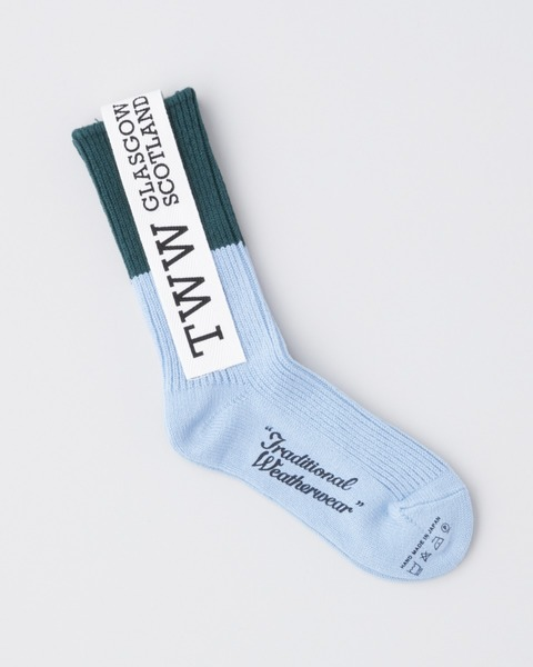 COTTON BI-COLOR SOCKS