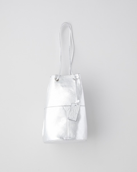 DRAWSTRING PURSE METAL