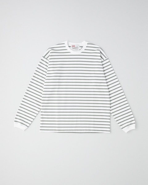 LONG SLEEVE CREW NECK RIB T-SHIRT