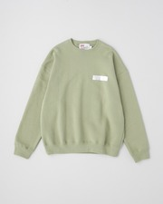 SEALING CREW NECK PULL OVER 詳細画像 オリーブグリーン 11