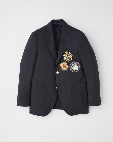 【×J.PRESS】3 BUTTON BLAZER with EMBLEM