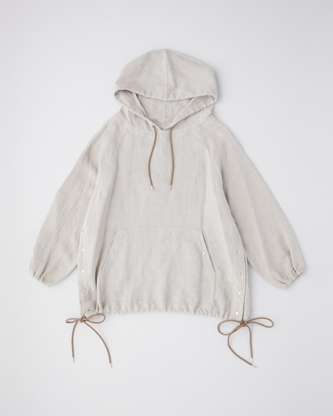 HOODED PULL OVER SHIRT