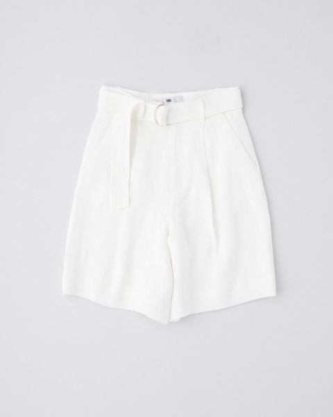 【HIGH STREET COLLECTION】BELTED SHORTS