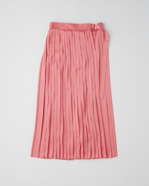 【HIGH STREET COLLECTION】WRAP PLEATS SKIRT