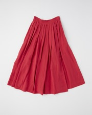 【HIGH STREET COLLECTION】TUCK VOLUME SKIRT 詳細画像 レッド 11