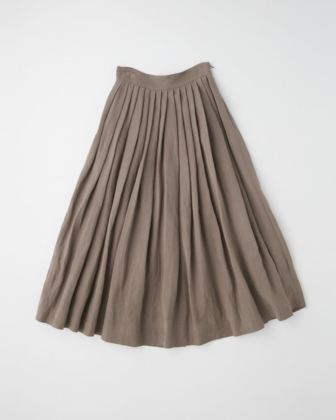 【HIGH STREET COLLECTION】TUCK VOLUME SKIRT