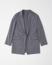 【HIGH STREET COLLECTION】BUTTONLESS JACKET 詳細画像 グレー 1
