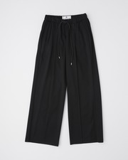 【HIGH STREET COLLECTION】BACK SLIT PANTS 詳細画像 ブラック 11