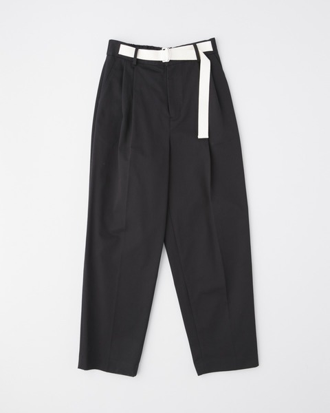 WAIST BELT TAPERD PANTS