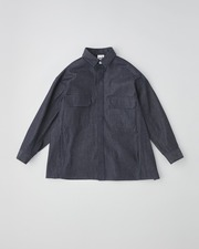 FLY FRONT FLAP POCKET SHIRT 詳細画像 インディゴ 1