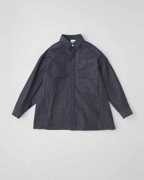 FLY FRONT FLAP POCKET SHIRT