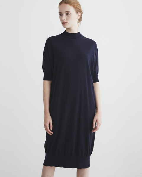 【HIGH STREET COLLECTION】SHORT SLEEVE KNIT ONE-PIECE