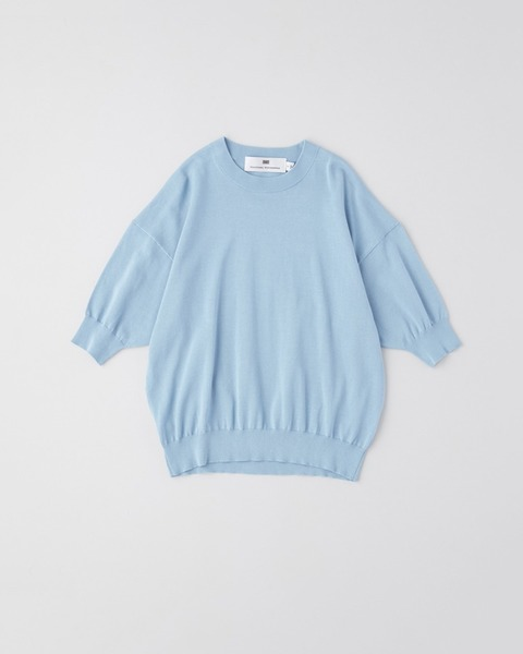 【HIGH STREET COLLECTION】SHORT SLEEVE KNIT PULL OVER