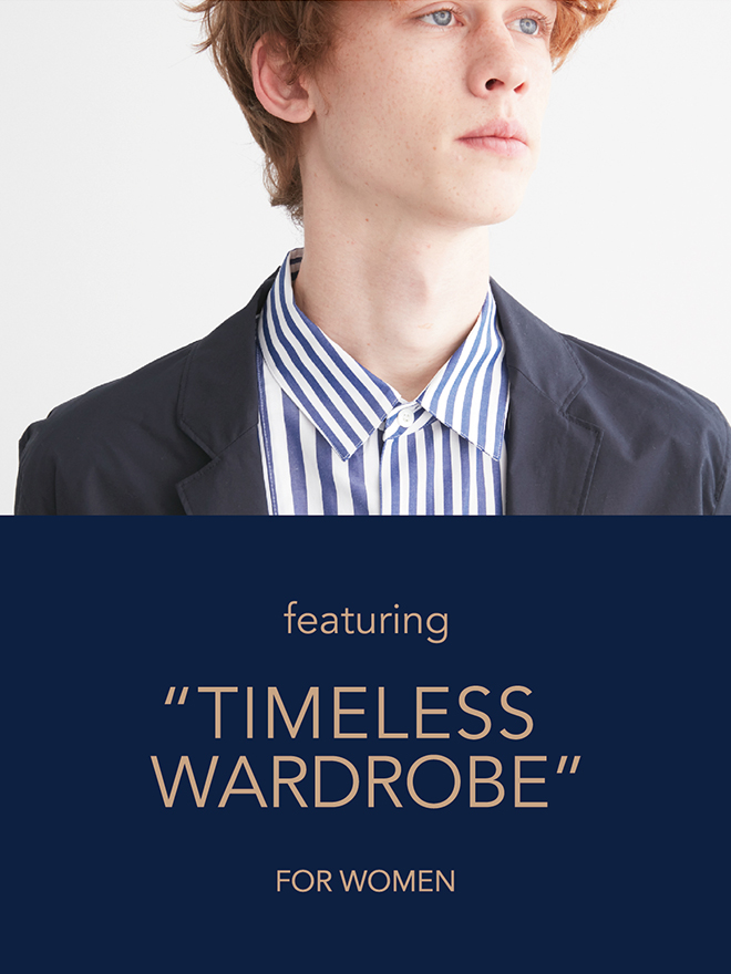 TIMELESS WARDROBE MENS
