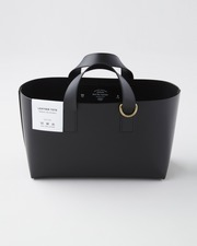 【×foot the coacher】LEATHER TOTE 詳細画像 ブラック 1