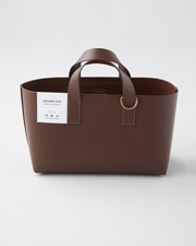 【×foot the coacher】LEATHER TOTE 詳細画像 ブラウン 1