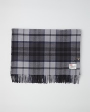 LARGE STOLE WOOL GRADATION 詳細画像 ブラック 11