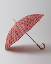 BAMBOO NEON CHECK UMBRELLA 詳細画像 レッド 1