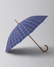 BAMBOO NEON CHECK UMBRELLA 詳細画像 ブルー 1