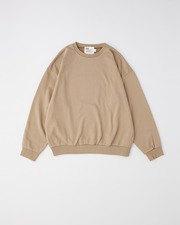 CREW NECK PULL OVER SWEAT SHIRT 詳細画像 ベージュ 1